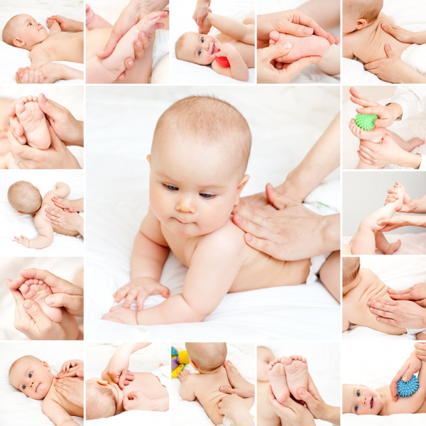 Newborn Baby Massage