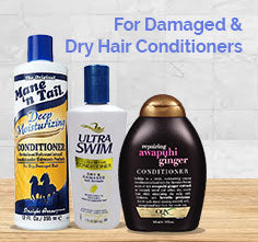 For Damaged & Dry Hair Conditioners