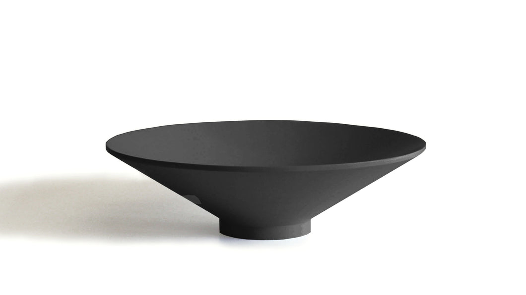 Large Fruit Bowl Black