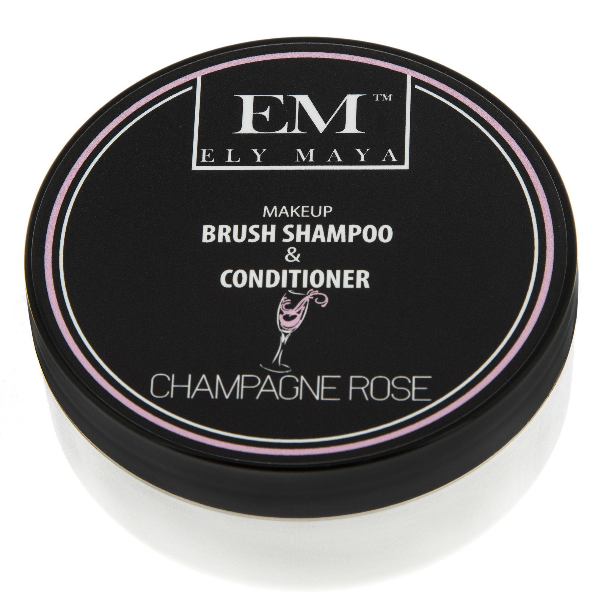 ELY MAYA - BRUSH SHAMPOO AND CONDITIONER CHAMPAGNE ROSE