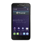 Alcatel One Fierce Prepaid Phone MetroPCS