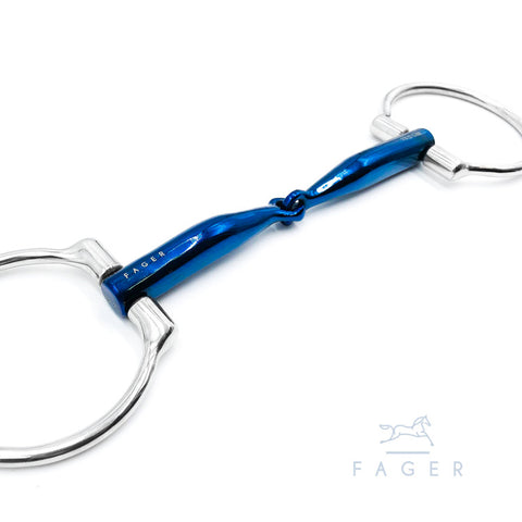 Fagerbits Lilly Titanium Single Jointed Bar Relief d-ring