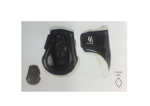 HorseGuard Arta Croco Protection Boots Back