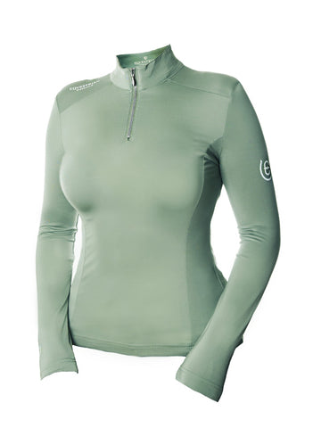 Equestrian Stockholm UV Protection Pistachio White