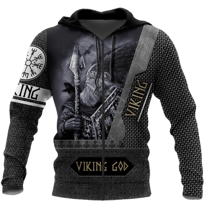 VIKING GOD 3D ALL OVER PRINTED