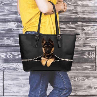 German Shepherd Tote Bag V1