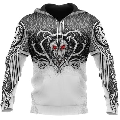 Viking Hoodie - Wolf And Guard
