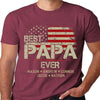 Best Papa Ever | Personalized T-shirt