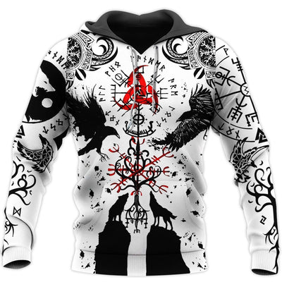 VIKINGS TATTOO 3D ALL OVER PRINTED SHIRTS