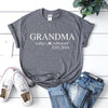 Grandma Est. | Personalized T-shirt