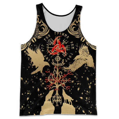 VIKING TATTOO 3D ALL OVER PRINTED SHIRTS