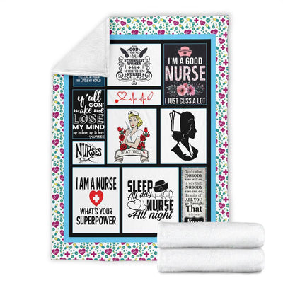 Awesome Nurse Blanket 1