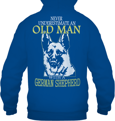 Never Underestimate an Old Man With GSD