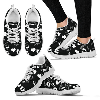 Shoes Women Black 2 / US5 (EU35) NICU Cute Shoes