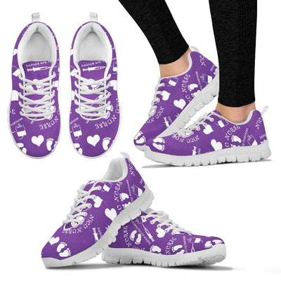 Shoes Women Purple / US5 (EU35) NICU Cute Shoes