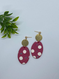The 'Pinky' Statement Earrings