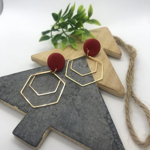 The 'Dasha' Statement Earrings