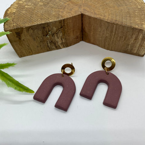 The 'Sable' Statement Earrings