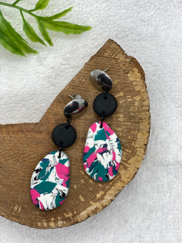The 'Sash' Statement Earrings