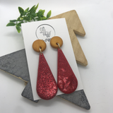The 'Santa' Statement Earrings