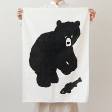 BLACK BEAR FABRIC - LARGE