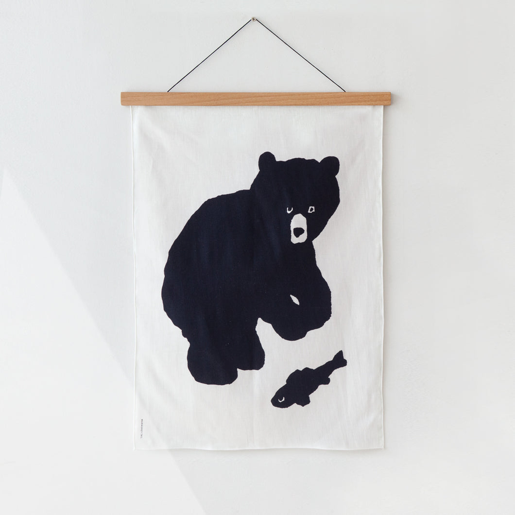 BLACK BEAR FABRIC - SMALL