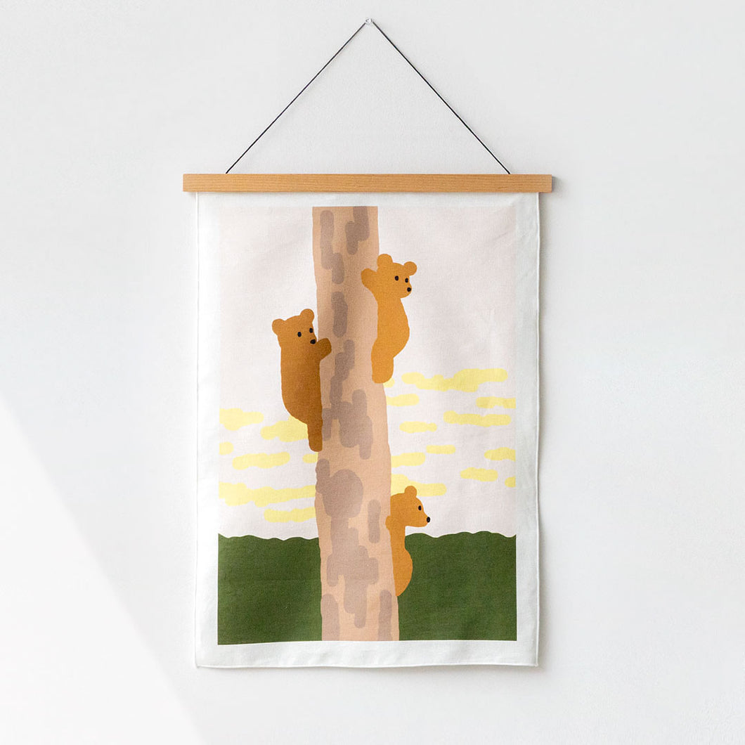 TREE&BEARS POSTER - SMALL