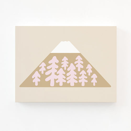 SNOW PEAK BROWN CANVAS
