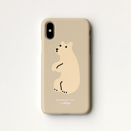 Huggy Bear - Cream Phone Case