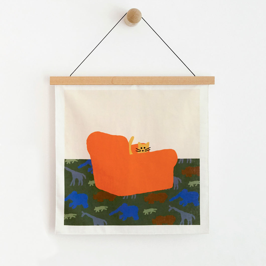 ARMCHAIR FABRIC POSTER - SMALL