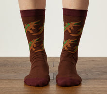 Crocodile - Brown Socks