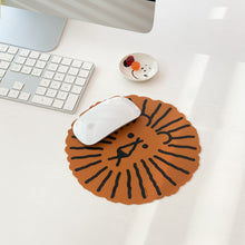 LION MOUSE PAD - WHITE