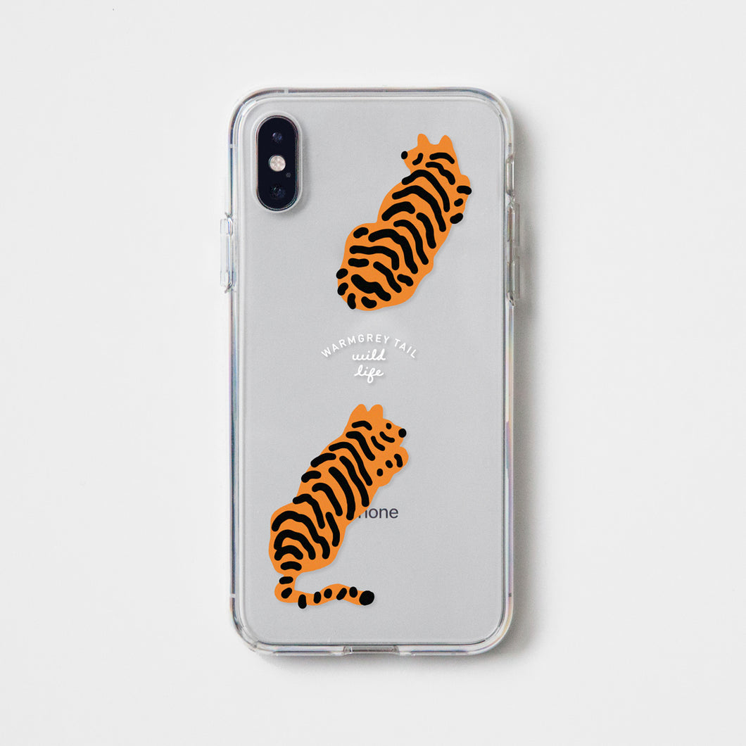 Tigers Clear Phone Case