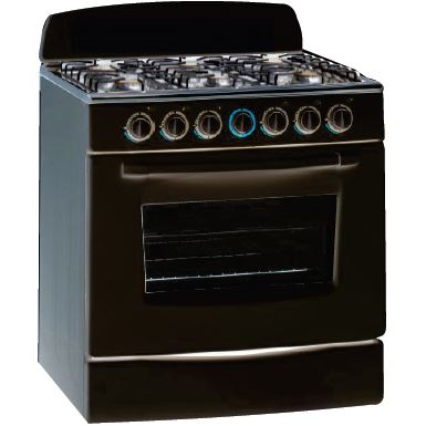 Sunbeam 6 Plate Gas Stove with Oven - SGO-750B by Sunbeam