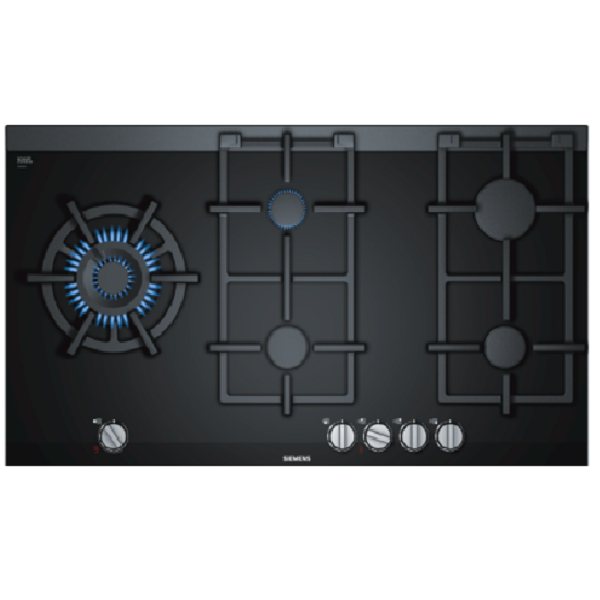 Siemens 900mm Gas hob with wok burner with stepflame ER9A6SD70Z