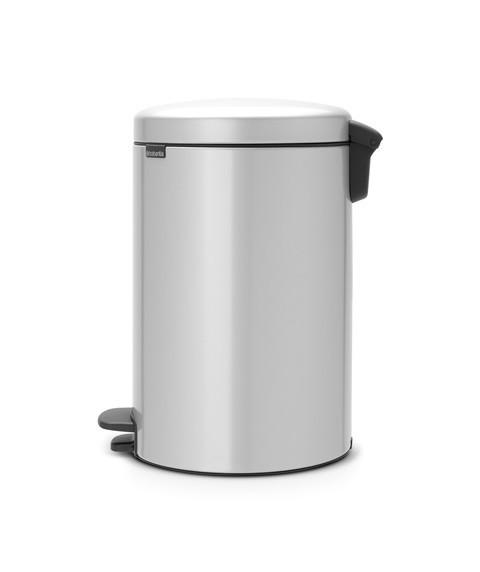 Pedal Bin NewIcon 20 Litre - Metallic Grey