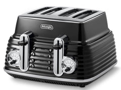 Delonghi - Scultura Carbon Black - Breakfast Set (KBZ2001.BK+CTZ4003.BK)
