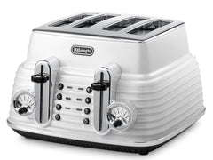 Delonghi - Scultura Zinc White Breakfast Pack (KBZ2001.W+CTZ4003.W)