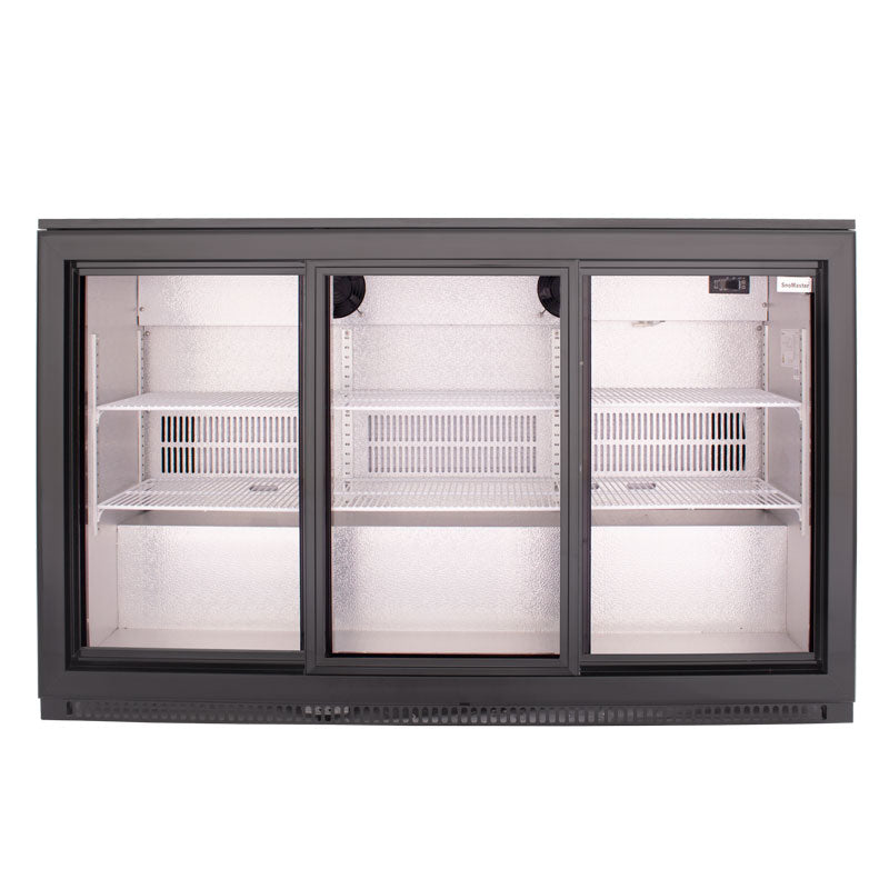 SnoMaster 300L Under Counter Beverage Cooler Sliding Door (DBQ-300LS3)