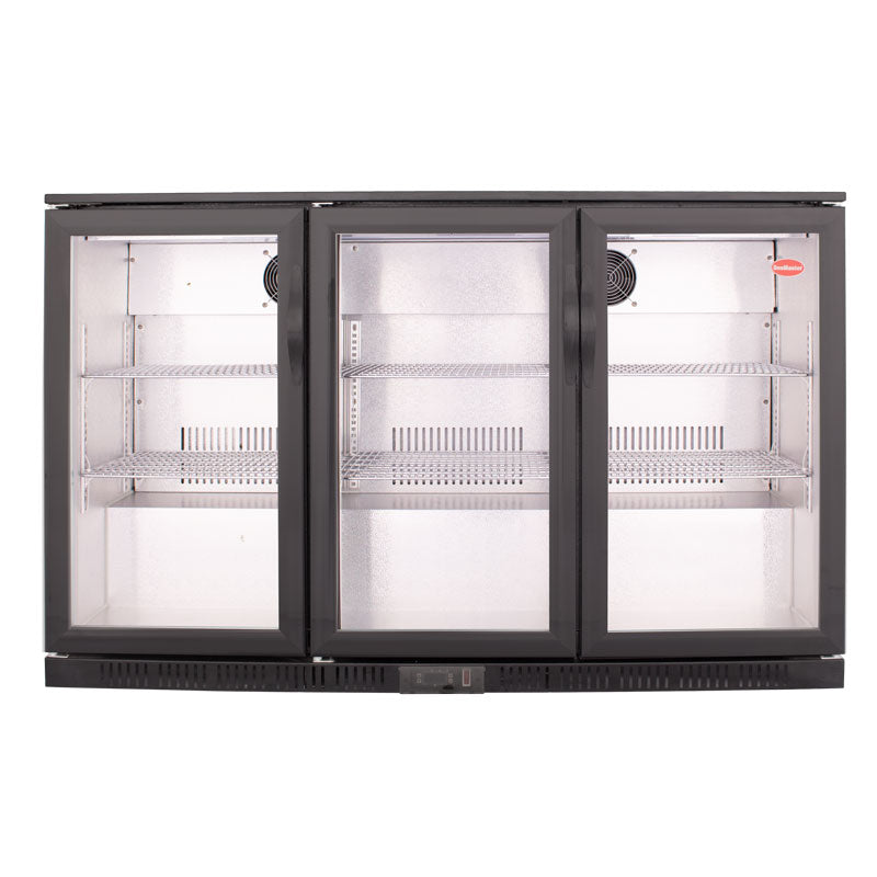 SnoMaster 300L Under Counter Beverage Cooler Hinged Door (DBQ-300LSS)