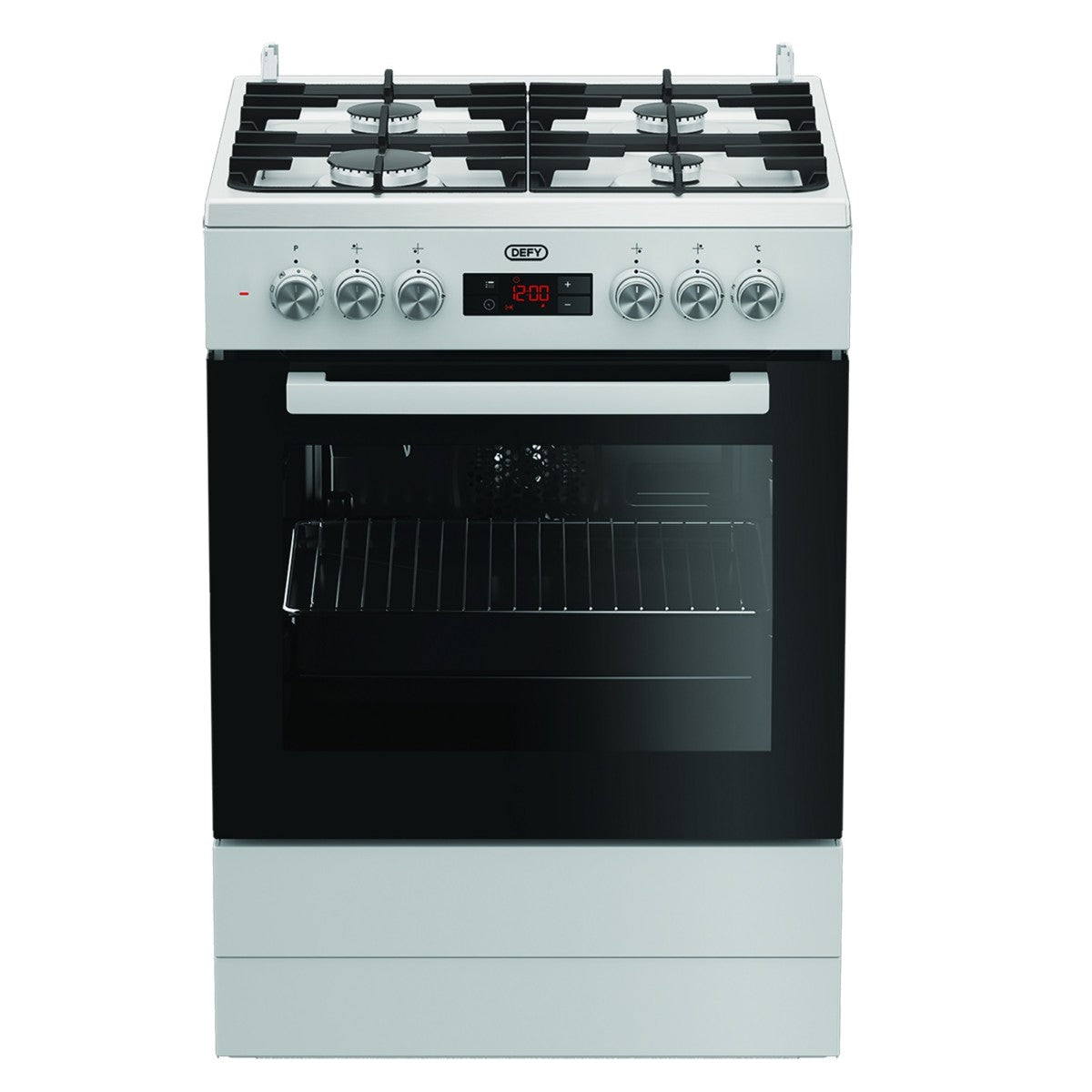 DGS182 GAS/ELECTRIC STOVE DEFY 4 BURNER M/F W