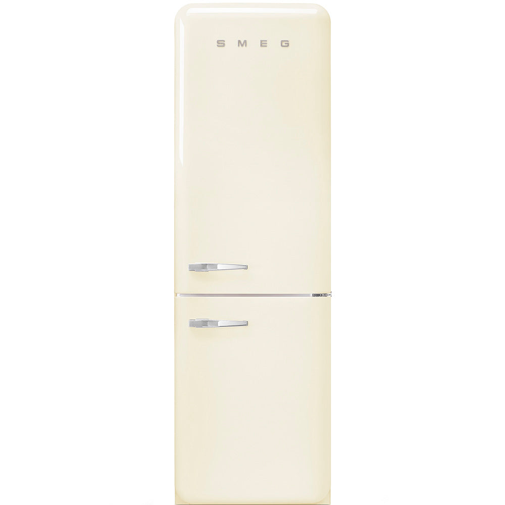 SMEG - 60cm Vintage Cream Retro fridge-freezer