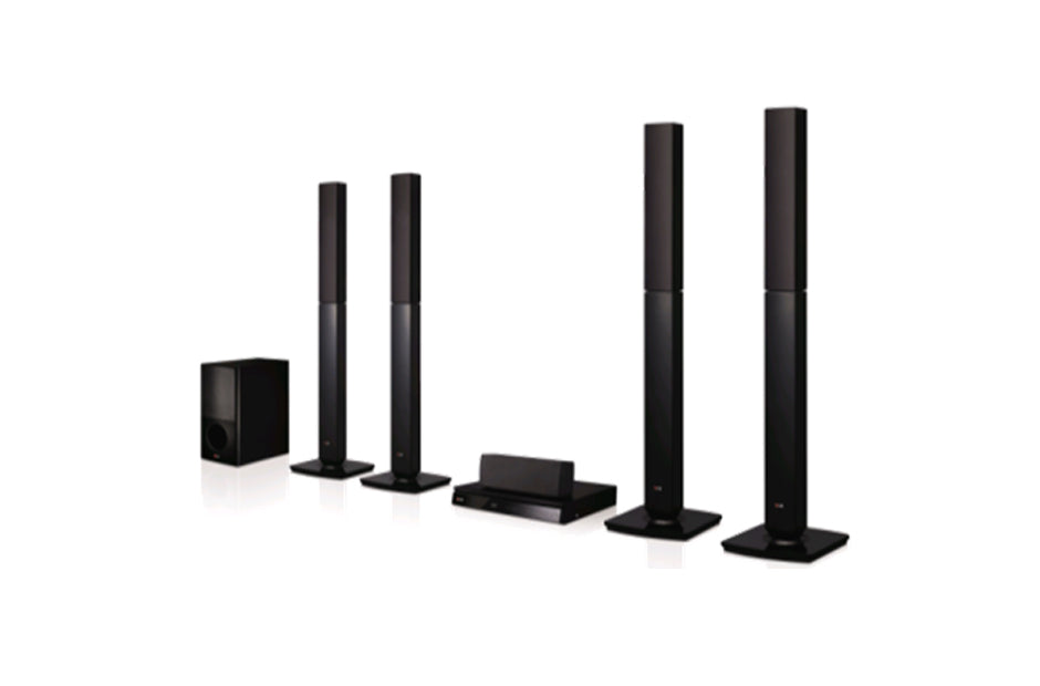 LHD657 1000W 5.1Ch DVD Home Theatre System