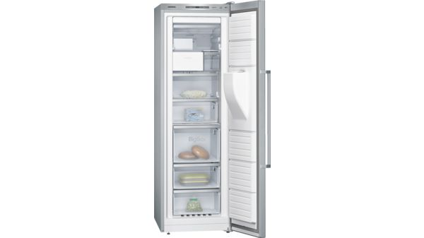 Siemens 210L upright freezer with indoor ice dispenser GS36DPI20