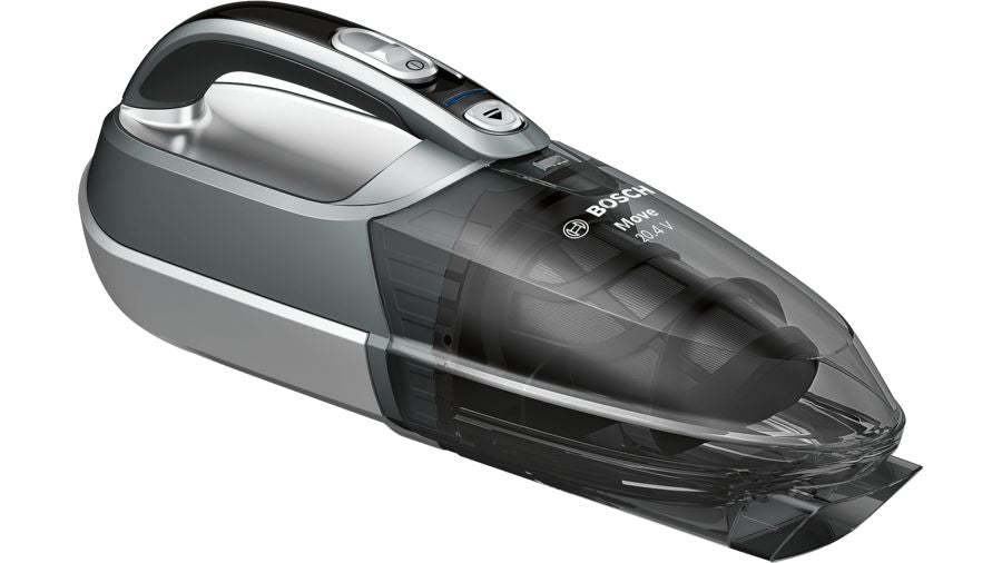 Cordless Handheld Vacuum CleanerMove 20.4V Silver BHN20110