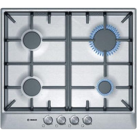 Bosch Series 6 Stainless Steel Gas Hob PUE611BF1B