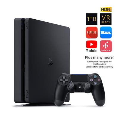 PS4 1TB BL + DS4 BL + Uncharted: Lost Legacy