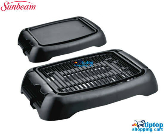 Sunbeam SEG-202 2-in-1 Deluxe Electric Grill [SEG-202]