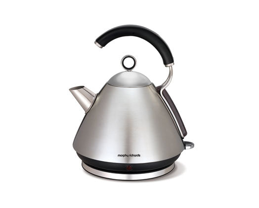 Morphy Richards kettle 360 degrees Cordless stainless steel black1.5l 2200W Accents