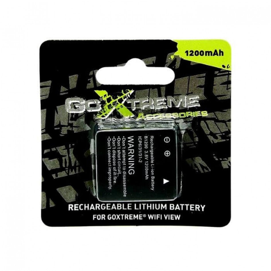 GoXtreme 1200 mAh Battery - Wifi view - plus wifi speed